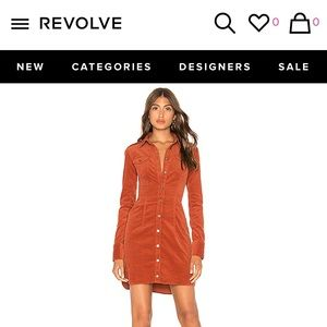 Free people corduroy dress